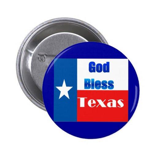 Dieu bénissent le Texas Badges