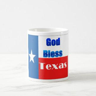 Dieu bénissent le Texas Tasse