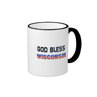 Dieu bénissent le Wisconsin Mug À Café