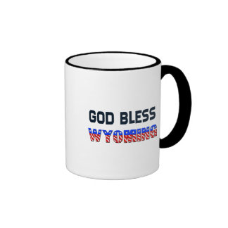 Dieu bénissent le Wyoming Mug À Café