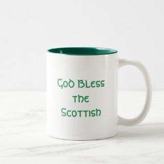 Dieu bénissent les Écossais Mugs À Café