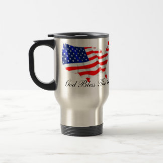 Dieu bénissent les Etats-Unis Mugs À Café