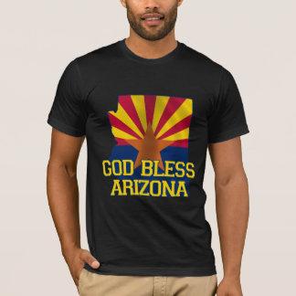 Dieu bénissent l'état de l'Arizona T-shirt