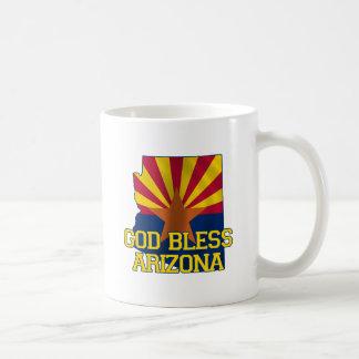 Dieu bénissent l'état de l'Arizona Tasses À Café