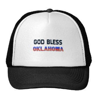 Dieu bénissent l'Oklahoma Casquette De Camionneur