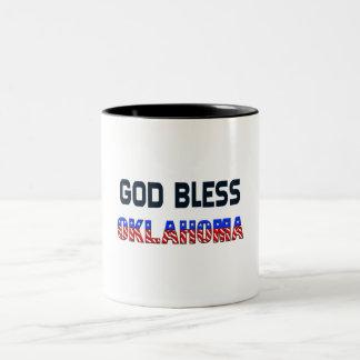 Dieu bénissent l'Oklahoma Mug