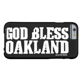 Dieu bénissent Oakland Coque iPhone 6 Barely There