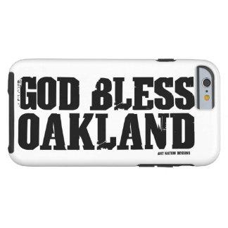Dieu bénissent Oakland Coque Tough iPhone 6