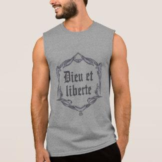 Dieu et liberte sleeveless shirt