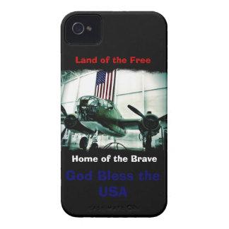 Dieu patriote bénissent le cas de l'iPhone 4 des E