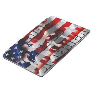 Dieu patriote bénissent le drapeau et les soldats protection iPad air