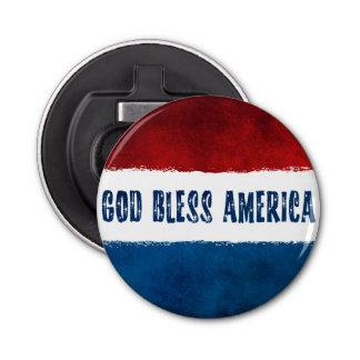 Dieu patriote bénissent l'ouvreur de bouteille de ouvre-bouteilles