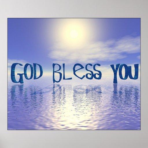Dieu vous bénissent posters
