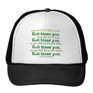 Dieu vous bénissent casquettes