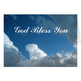 Dieu vous bénissent opacifie carte
