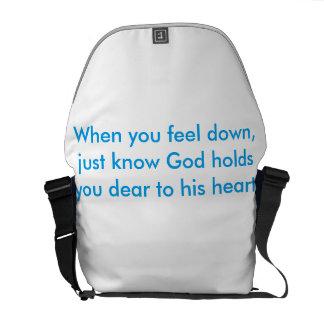 Dieu vous juge chers sacoche