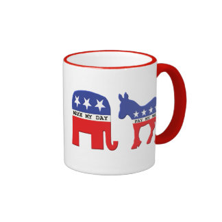 Difference Between Republicans and Democrats Funny Coffee Mugs