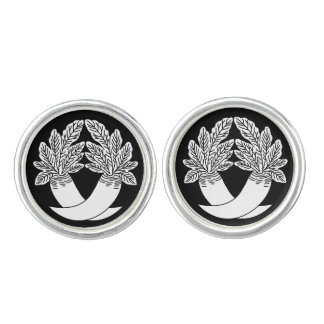 Difference Japanese radish Cufflinks