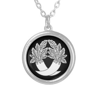 Difference Japanese radish Silver Plated Necklace