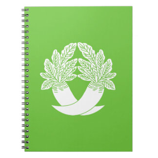 Difference Japanese radish Spiral Notebook