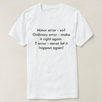 Differenet errors T-Shirt