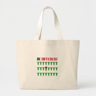 Different design cute large tote bag
