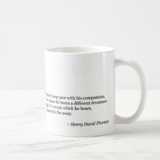 Different Drummer Classic White Coffee Mug