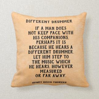 Different Drummer - pillow