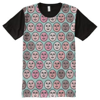 Different Faces One World -ACLU - Mens Panel Shirt