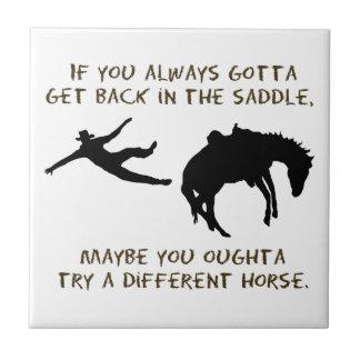 Different Horse Tile