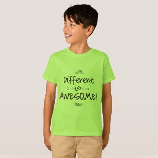 Different is Awesome - Kids T T-Shirt
