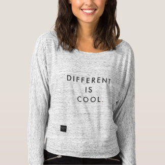 Different Is Cool Shirt - Inclusion Project
