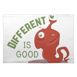 Different Is Good Placemat