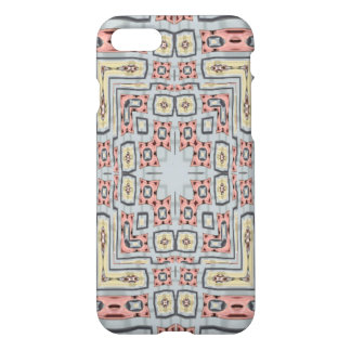 Different modern coloured pattern iPhone 8/7 case