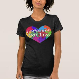 Different Not Less Autism Awareness T-Shirt