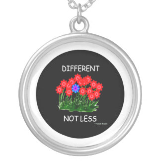 Different Not Less/NECKLACE Silver Plated Necklace