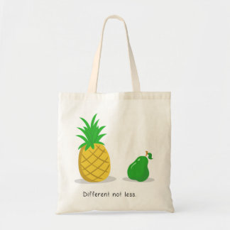 Different Not Less - Tote Bag