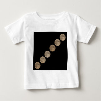 Different phases of rising full moon baby T-Shirt