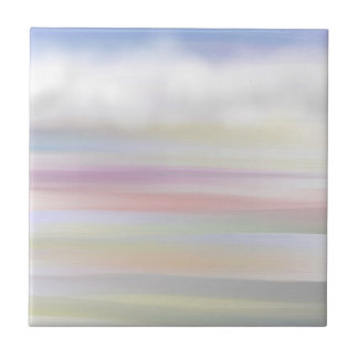 different skies abstract art tile design