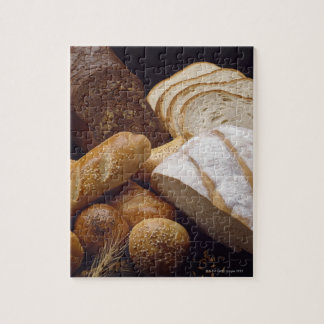 Different types of artisan bread jigsaw puzzle