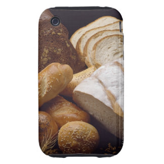 Different types of artisan bread tough iPhone 3 covers