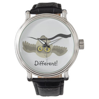Different! Upside Down Owl ~wrist watch