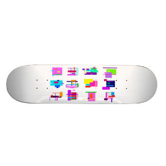Different View Point Skate Board Deck