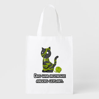 Differently planned shopping bag grocery bag