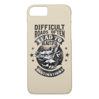 Difficult Roads Glossy Phone Case
