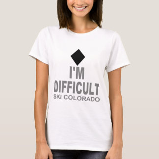 Difficult Ski Colorado T-Shirt