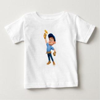 Difficulté-il JR tenant le marteau dans le ciel Tee-shirt