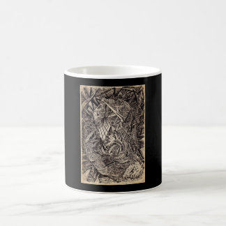 Diffracted (cavern dweller) coffee mug