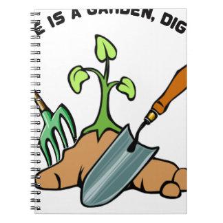 Dig it, life is a Garden Notebook