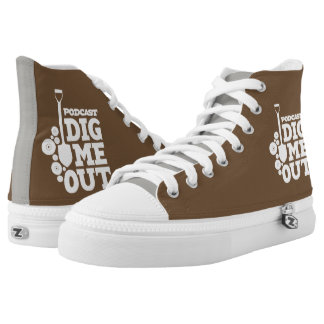 Dig Me Out High Top ZIPZ Shoes